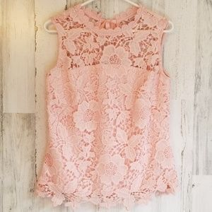 Quality Nanette Lapore Lace Top